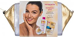 Parfémy, Parfumerie, kosmetika Sada - Dermacol 3D Hyaluron Therapy (f/cream/50ml + f/mask/16ml + micel/water/200ml + bag)