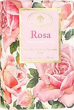 Parfémy, Parfumerie, kosmetika Přírodní mýdlo Růže - Saponificio Artigianale Fiorentino Masaccio Rose Soap