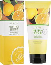 Parfémy, Parfumerie, kosmetika Citronová detox pěna - Lebelage Lemon Detox Cleansing Foam