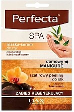 Parfémy, Parfumerie, kosmetika Regenerační maska-sérum na ruce - Perfecta Spa Hand Peeling