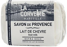 Parfémy, Parfumerie, kosmetika Provensálské mýdlo Kozí mléko - La Corvette Provence Soap Goat Milk