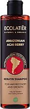 Parfémy, Parfumerie, kosmetika Keratinový šampon na vlasy Plody acai z Amazonie - Ecolatier Amazonian Acai Berry Shampoo
