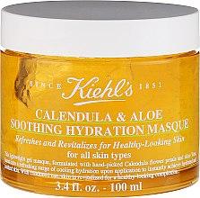 Parfémy, Parfumerie, kosmetika Uklidňující a hydratační maska pro obličej s měsíčkem - Kiehl`s Calendula & Aloe Soothing Hydration Masque