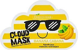 "Parfémy, Parfumerie, kosmetika Maska-obláček na obličej ""Banán"" - Bielenda Cloud Mask Banana Cabana"