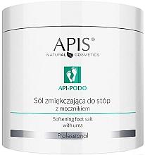Parfémy, Parfumerie, kosmetika Zjemňující sůl na nohy s močovinou - Apis Professional Api-Podo Softening Foot Salt With Urea