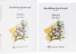 Parfémy, Parfumerie, kosmetika Látková maska na obličej Španělsko - Calluna Medica Spain Anti-Acne Biocellulose Facial Mask