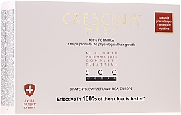 Parfémy, Parfumerie, kosmetika Ampule na obnovu růstu vlasů u žen - Crescina HFSC Re-Growth Anti-hair Loss 500