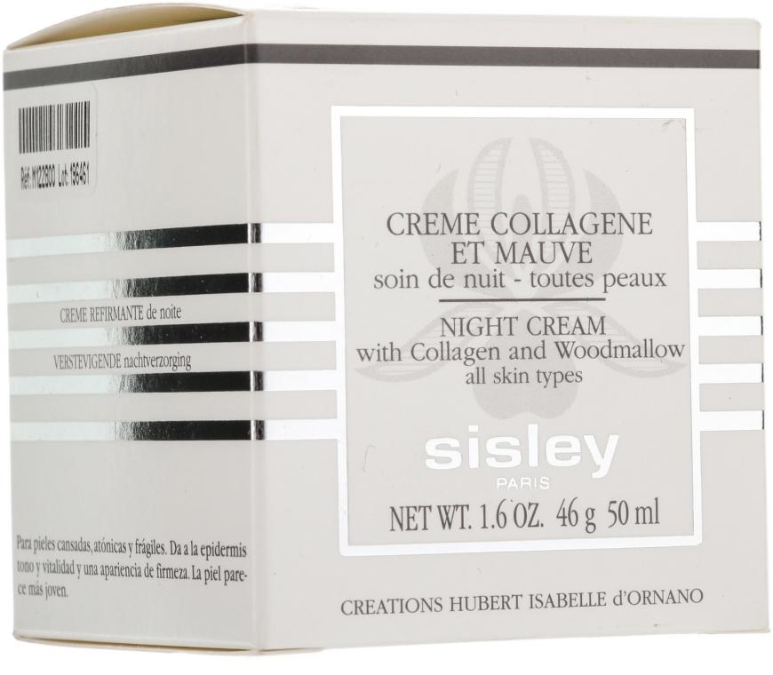 Noční liftingový krém - Sisley Creme Collagene Et Mauve Botanical Night Cream — foto N3
