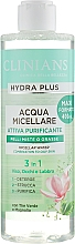 Parfémy, Parfumerie, kosmetika Micelární voda 3v1 Zelený čaj a magnólie - Clinians Hydra Plus Acqua Micellare