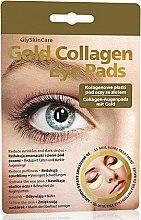Parfémy, Parfumerie, kosmetika Kolagenové náplasti pod oči se zlatem - GlySkinCare Gold Collagen Eye Pads