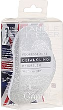 Parfémy, Parfumerie, kosmetika Hřeben na vlasy, stříbro s třpytkami - Tangle Teezer Detangling The Original Silver Sparkle