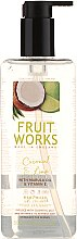 Parfémy, Parfumerie, kosmetika Mýdlo na ruce Coconut & Lime - Grace Cole Fruit Works Coconut & Lime Hand Wash