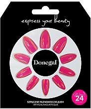Parfémy, Parfumerie, kosmetika Sada umělých nehtů s lepidlem, 3060 - Donegal Express Your Beauty