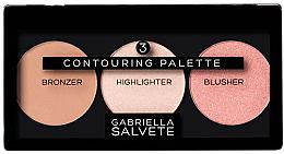 Parfémy, Parfumerie, kosmetika Konturovací paleta - Gabriella Salvete Contouring Palette
