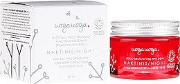 Parfémy, Parfumerie, kosmetika Noční krém s extraktem z klíkvy a kyselinou hyaluronovou - Uoga Uoga Hyaluronic Acid Night Cream