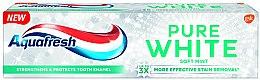 """Parfémy, Parfumerie, kosmetika Bělicí zubní pasta """"Soft Mint"""" - Aquafresh Pure White Soft Mint"""