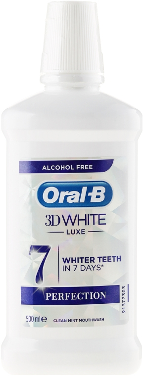 Ustní voda - Oral-b 3D White Luxe Perfection