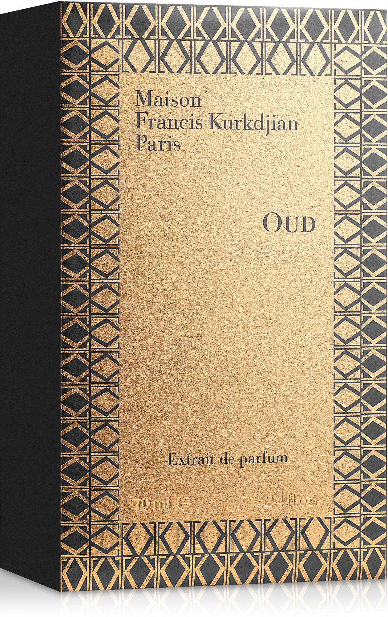 Maison Francis Kurkdjian Oud Extrait de Parfum - Parfém — foto 70 ml