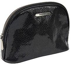 """Parfémy, Parfumerie, kosmetika Kosmetická taška """"Black Shine"""" velká 4994, černá - Donegal"""
