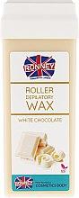 "Parfémy, Parfumerie, kosmetika Depilační vosk v kazetě Ronney ""Bílá čokoláda"" - Ronney Wax Cartridge White Chocolate"
