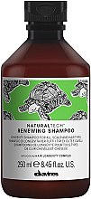 Parfémy, Parfumerie, kosmetika Obnovující šampon proti stárnutí pokožky hlavy a vlasů - Davines Natural Tech Renewing Shampoo