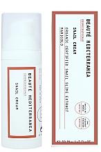 Parfémy, Parfumerie, kosmetika Omlazující krém na obličej s hlemýžďovým slizem - Beaute Mediterranea Snail Cream
