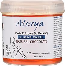 """Parfémy, Parfumerie, kosmetika Depilační cukrová pasta """"Čokoláda"""" - Alexya Sugar Paste Natural Chocolate"""