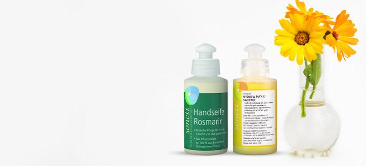 K nákupu produktů Sonett v hodnotě nad 222 Kč získej jako dárek tekuté mýdlo dle výběru
