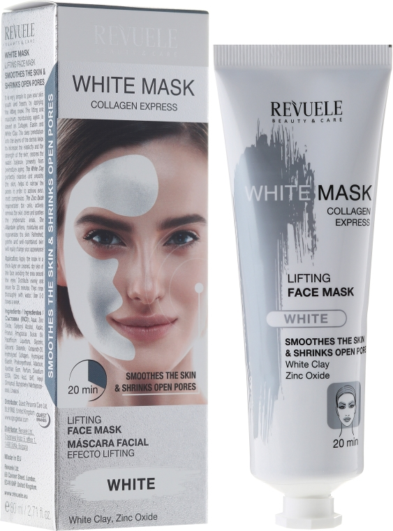 Maska na obličej - Revuele White Mask Lifting Face Mask