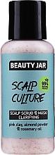 Parfémy, Parfumerie, kosmetika Čisticí maska na pokožku hlavy - Beauty Jar Scalp Culture Scrub & Mask