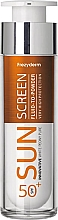 Parfémy, Parfumerie, kosmetika Opalovací fluid pro obličej - Frezyderm Sun Screen Vitamin D Like Skin Benefits Fluid to Powder SPF50+
