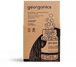 """Parfémy, Parfumerie, kosmetika Tablety pro čištění zubů """"Aktivní uhlí"""" - Georganics Natural Toothtablets Activated Charcoal (náhradní náplň )"""