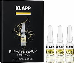 """Parfémy, Parfumerie, kosmetika Dvoufázové sérum """"Retinol"""" - Klapp Bi-Phase Serum Retinol"""