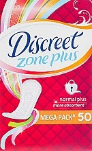 Parfémy, Parfumerie, kosmetika Denní hygienické vložky Normal Plus, 50 ks. - Discreet