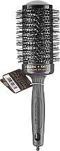 Parfémy, Parfumerie, kosmetika Profesionální keramický kartáč na vlasy 55 mm, černý - Olivia Garden Ceramic+ion Thermal Brush Black d 55