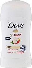 Parfémy, Parfumerie, kosmetika Tuhý deodorant Fresh Apple & White Tea - Dove Go Fresh Apple & White Tea Deodorant