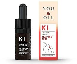 Parfémy, Parfumerie, kosmetika Směs esenciálních olejů - You & Oil KI-Temperature Touch Of Welness Essential Oil