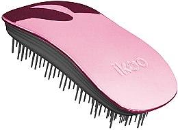 Parfémy, Parfumerie, kosmetika Kartáč na vlasy - Ikoo Home Rose Metallic Brush