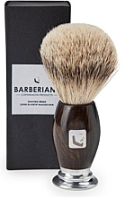 Parfémy, Parfumerie, kosmetika Štětka na holení - Barberians. Shaving Brush Silver Tip