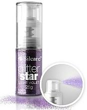 Parfémy, Parfumerie, kosmetika Sypké zdobící třpytky na nehty - Silcare Glitter Star