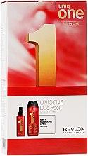 Parfémy, Parfumerie, kosmetika Sada - Revlon Professional Uniq One Uniqone Duo Pack (spray/150ml + sham/condit/300ml)