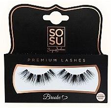 "Parfémy, Parfumerie, kosmetika Umělé řasy ""Brooke"" - SoSu by SJ Luxury Lashes"
