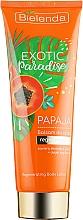 """Parfémy, Parfumerie, kosmetika Balzám na tělo """"Papaya"""" - Bielenda Exotic Paradise Balsam"""