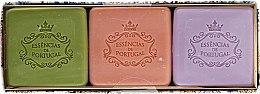 Parfémy, Parfumerie, kosmetika Sada - Essencias De Portugal Aromas Collection Autumn Set (soap/3x80g)