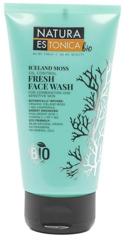 Osvěžující mycí gel Islandský mech - Natura Estonica Iceland Moss Face Wash