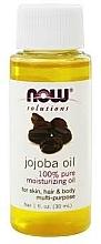 Parfémy, Parfumerie, kosmetika Jojobový olej - Now Foods Solutions Jojoba Oil