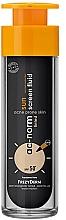 Parfémy, Parfumerie, kosmetika Fluid na obličej - Frezyderm Ac-Norm Active Sun Screen Tinted Fluid Spf50+