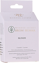 Parfémy, Parfumerie, kosmetika Henna na obočí - Wonder Lashes Brow Henna