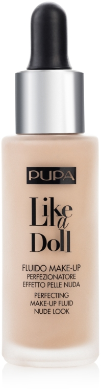 Tekutý make-up - Pupa Like a Doll Perfecting Make-up Fluid Nude Look