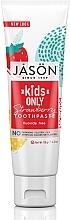 """Parfémy, Parfumerie, kosmetika Dětská zubní pasta """"Jahoda"""" - Jason Natural Cosmetics Kids Only Toothpaste Strawberry"""